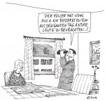 Cartoon von Bob Born